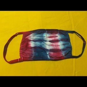 Hand Tie Dyed Reusable Cotton Face Mask  #3